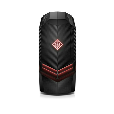 HP OMEN Intel Core i7-7700K, 16GB RAM, 2TB hard drive, 512GB SSD, Windows 10 Gaming Desktop Computer