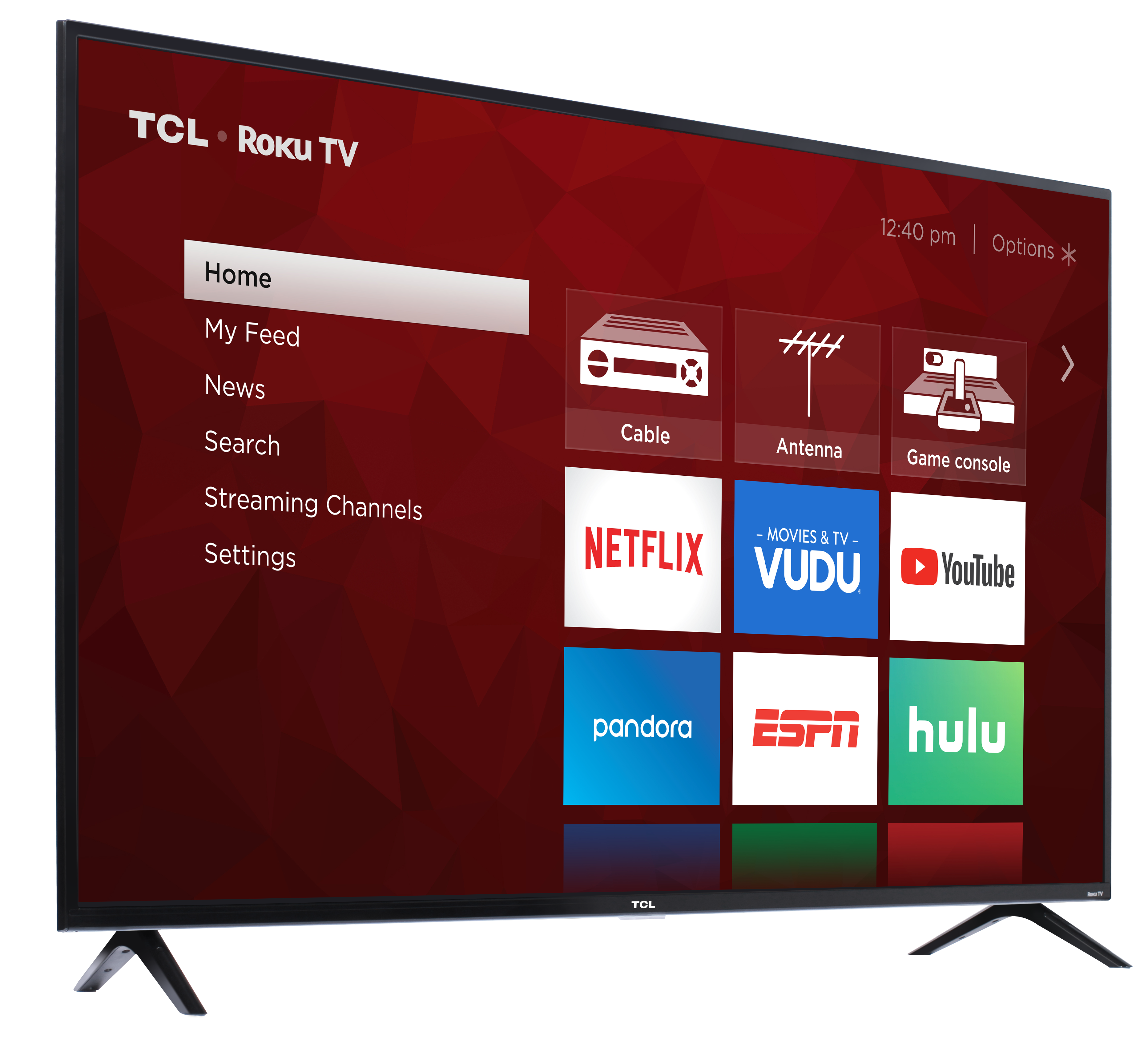 Tcl 65 Class 4k Uhd Led Roku Smart Tv Hdr 4 Series 65s421 Walmart Com Walmart Com