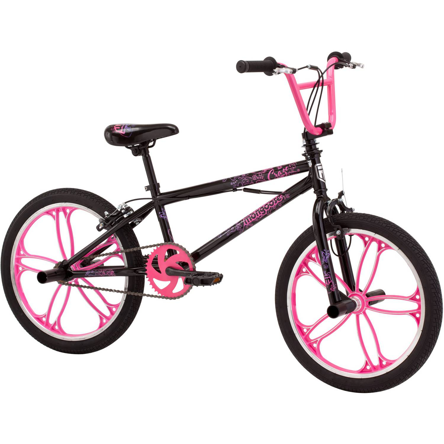 20 In Mongoose Craze Freestyle Girls BMX Bike 038675068353 ...