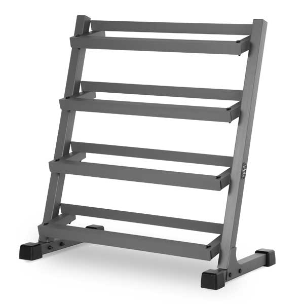XMark 3' Four Tier Dumbbell Rack