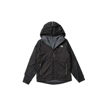 North Face Bionic Jacket - Boys Gray 18/20 Reversible Hooded Jacket XL