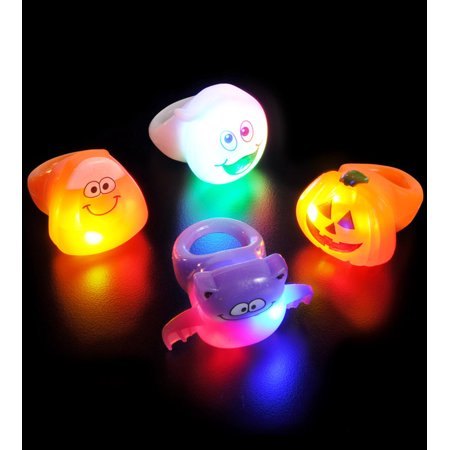 Lumistick Halloween Ghouls LED Flashing Ring (Halloween Office Ecards)