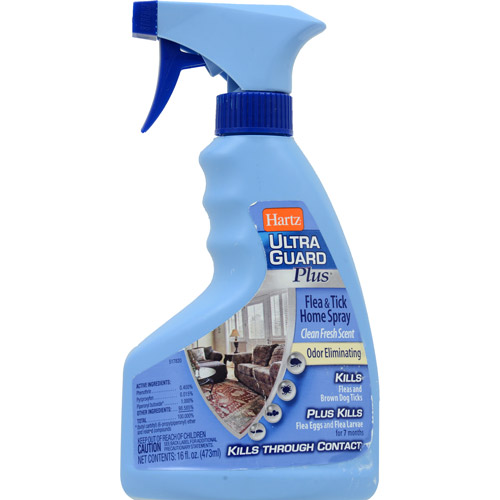 Hartz Ultraguard Plus Flea & Tick Home Spray, 16 oz