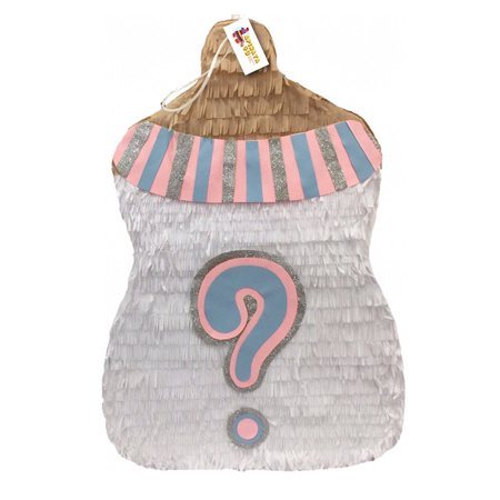 APINATA4U Traditional Gender Reveal Baby Bottle - Baby Pinatas