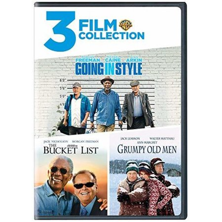 3 Film Collection: Going in Style / The Bucket List / Grumpy Old Men (DVD)