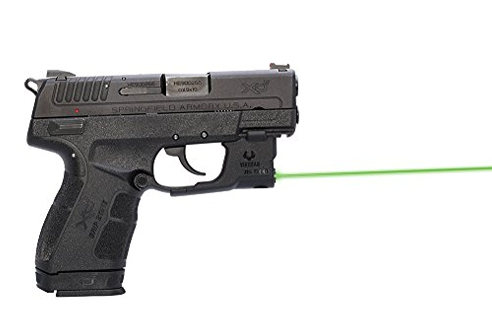 "Viridian Reactor 5 Gen 2 Green Laser Sight with INSTANT-ON Holster (Springfield XDE) ""GREEN for SPRINGFIELD ARMORY... by Unassigned"