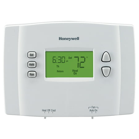 Honeywell 5-1-1-Day Programmable Thermostat (RTH2410B1001/E1) 5/1/1 Program Digital Thermostat
