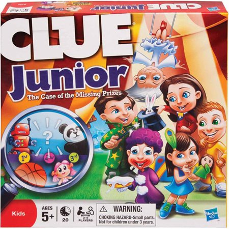 Clue Jr The Case Of The Missing Prizes Game Walmart