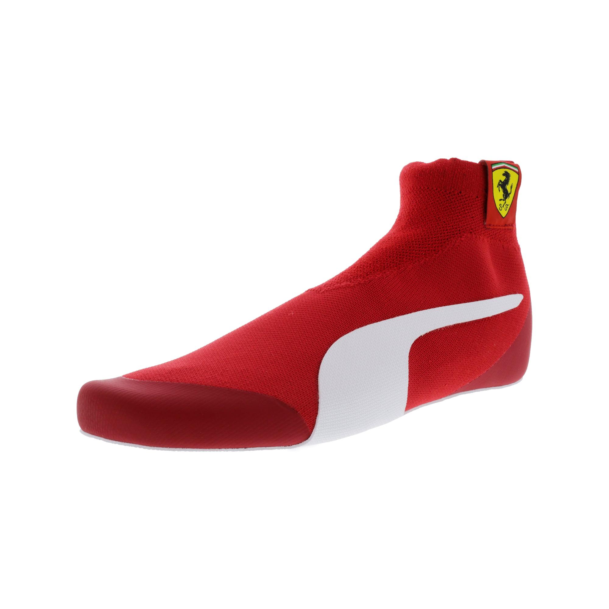 37afa00ce327dc Puma Men s Ferrari Driver Evoknit Replica Rosso Corsa   White Black  Ankle-High Fashion Sneaker - 8.5M
