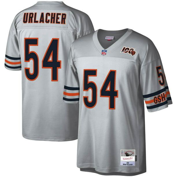Brian Urlacher Chicago Bears Mitchell & Ness NFL 100 Retired Player Legacy Jersey - Platinum