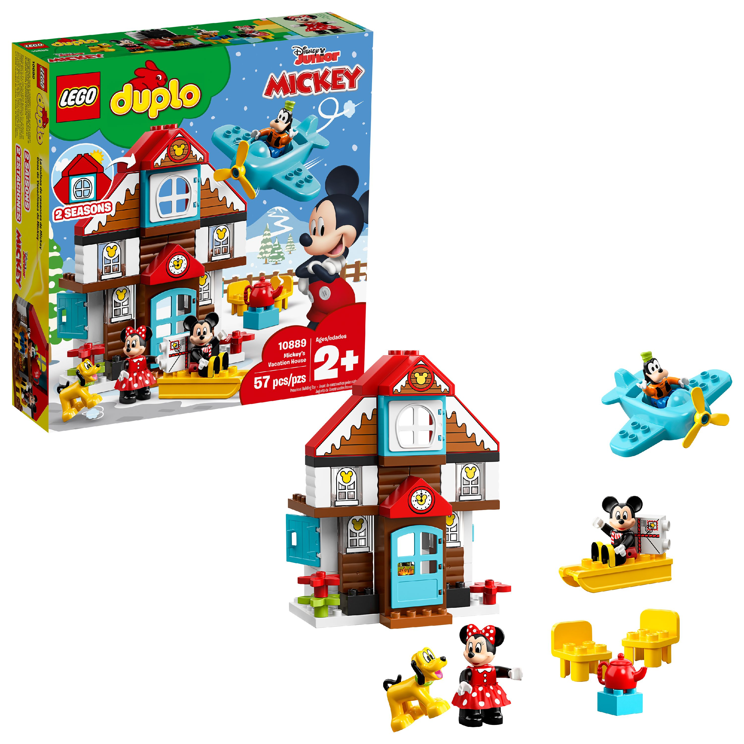 La Maison Du Convertible Republique lego duplo disney mickey's vacation house 10889 toddler building set -  walmart