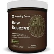 Amazing Grass Raw Reserve Green Superfood Powder, Original, 30 Servings