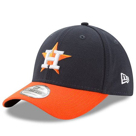 New Era Houston Astros MLB Team Classic 39THIRTY Flex Hat - Navy/Orange