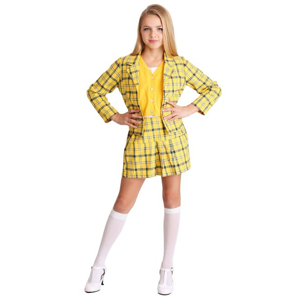 Girls Clueless Cher Costume Walmart Com Walmart Com