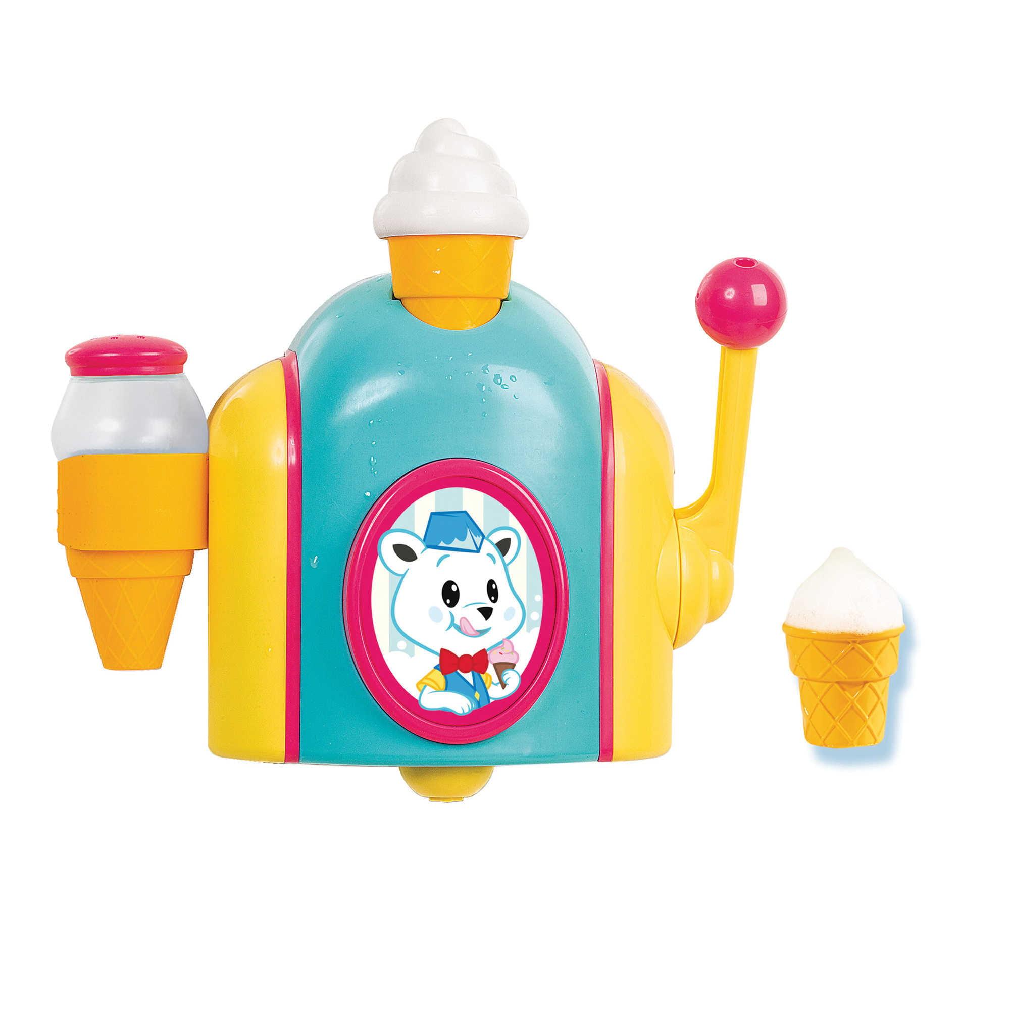 Tomy Toomies Foam Cone Factory, Toddler Bath Toy, 18m+ by TOMY TOOMIES