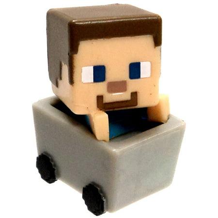 Scene Mini Figure (Minecraft Netherrack Series 3 Steve? Mini Figure [Minecart])