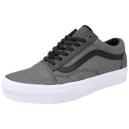 1139c21d0fd Vans Old Skool Embossed Stingray Black Ankle-High Leather Fashion Sneaker -  9M   7.5 ...