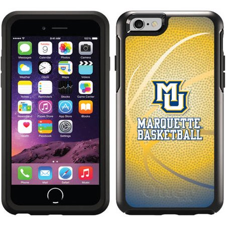 Marquette Basketball Design on OtterBox Symmetry Series Case for Apple iPhone 6
