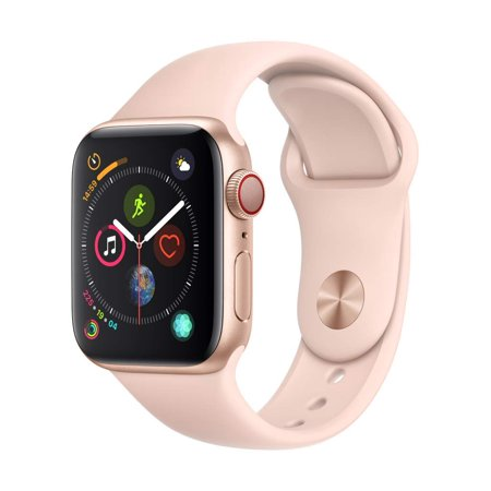 Openbox Apple Watch series 4 40mm Gold Aluminium Case with Pink Sand Sport Band ( GPS + CELLULAR )