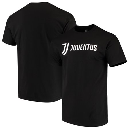 Juventus Jersey (Juventus Levelwear Arch Cotton T-Shirt - Black)