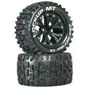Duratrax Lockup MT 2.8 Truck 2WD Mntd 1/2 Offset C2 Tires (2-Piece), Black