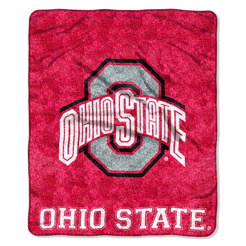 NCAA - Ohio State Buckeyes 50x60 Jersey Sherpa Throw
