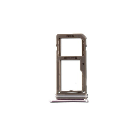 SIM Card Tray for Samsung Galaxy Note 8 - Single Card - Arctic Silver (SM-N950) (Htc One Sim Card Tray)