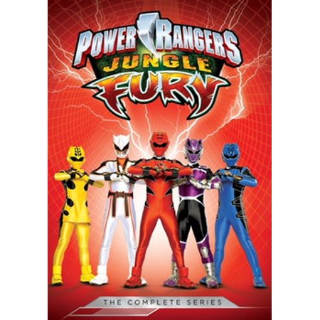 Power Rangers Jungle Fury: The Complete Series (DVD) - Red Jungle Fury