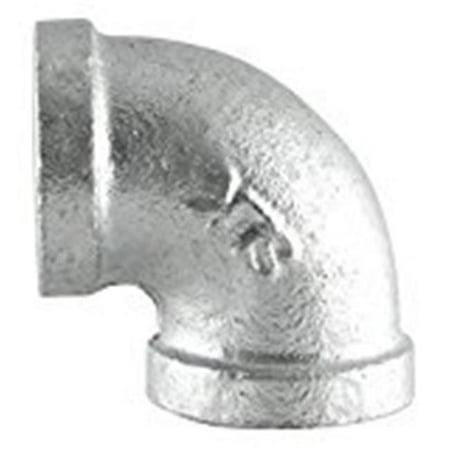 B & K 510-003HN 0.5 in. Galvanized 90 Deg Elbow - image 1 de 1