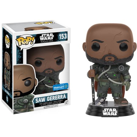 Pop Star Wars  Rogue One  Saw Gerrera Walmart Exclsuive
