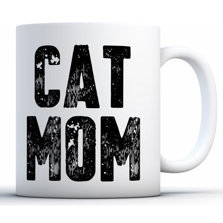 Awkward Styles Cat Mom Mug for Women Cat Mama Coffee Mug Funny Cat Mother Travel Mug Mother