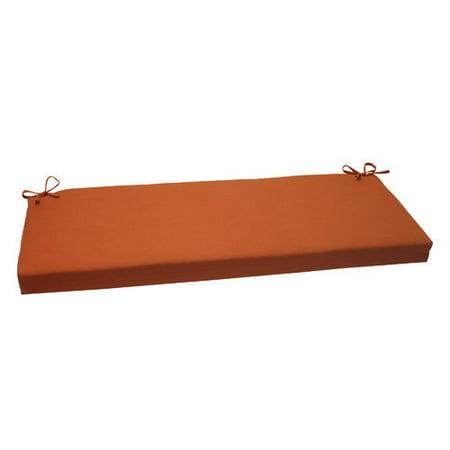 Pillow Perfect Cinnabar Outdoor Bench Cushion