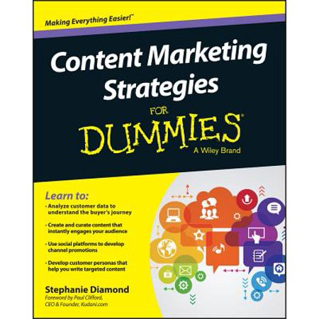 Content Marketing Strategies for Dummies (Diamond Dummy)
