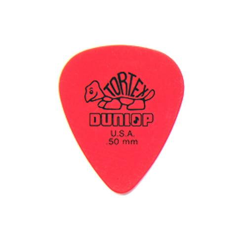 Dunlop 418P .50 Tortex Standard 12 Pack Picks by Jim Dunlop