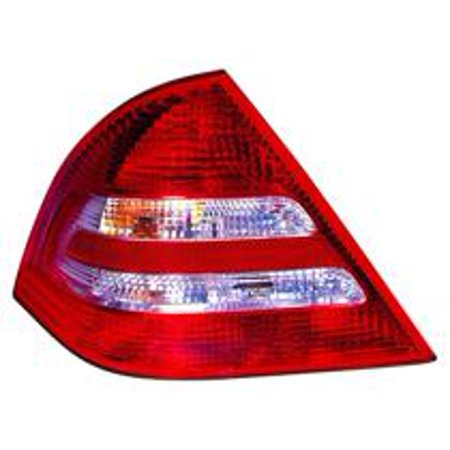 Go-Parts » 2005 - 2007 Mercedes Benz C230 Rear Tail Light Lamp Assembly / Lens / Cover - Left (Driver) 203 820 33 64 MB2800117 Replacement For Mercedes-Benz C230