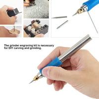 Yosoo Electric Engraving Pen,Rechargeable Mini Handheld Electric Engraving Pen Polishing Jade Wood Engraver Grinding Tool,Electric Engraver