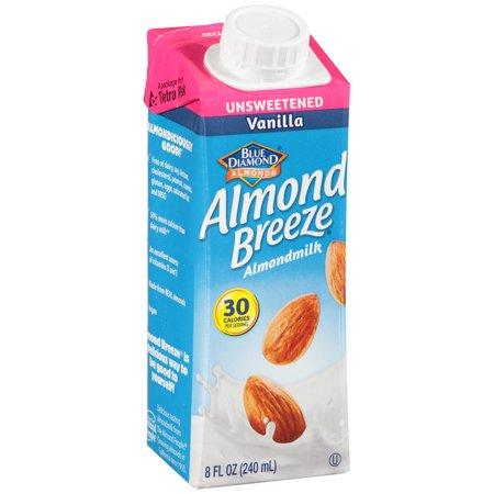 Image of Almond Breeze ® Unsweetened Vanilla Almondmilk 8 fl. oz. Aseptic Carton