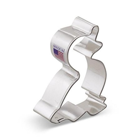 3 Inch Tin Cookie Cutter - Ann Clark Duck Cookie Cutter - 3 Inches - Tin Plated Steel