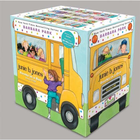 Junie B. Jones Books in a Bus (Books 1-28) (30 For 30 Marion Jones Press Pause)