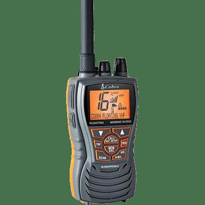 Cobra MR HH350 FLT VHF-HH, 6 Watt, Floats, Grey