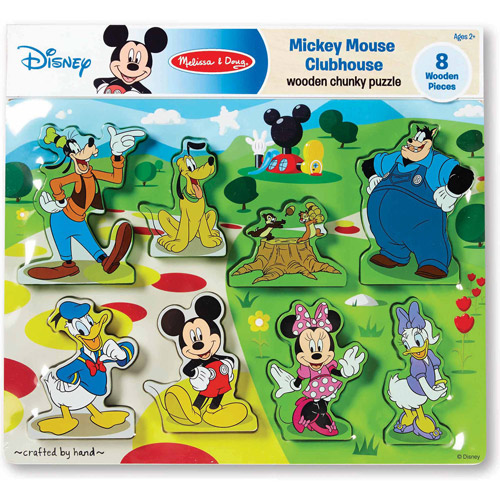 Disney Mickey Mouse Clubhouse Wooden Chunky Puzzle by Generic