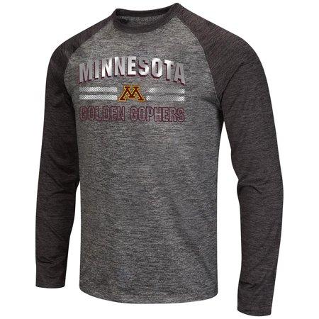 Mens NCAA Minnesota Golden Gophers Raven Long Sleeve Tee Shirt