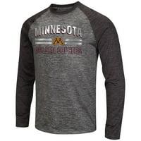 pretty nice 696bf eb2b0 Product Image Mens NCAA Minnesota Golden Gophers Raven Long Sleeve Tee Shirt