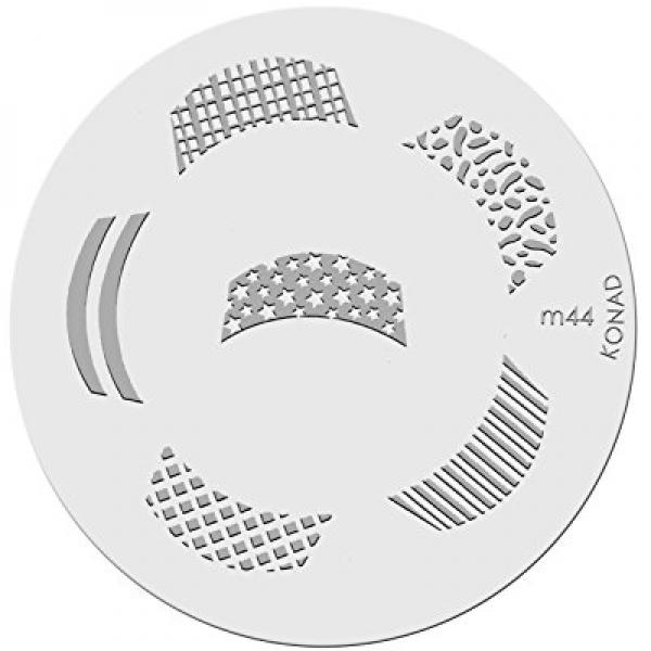 Konad Stamping Nail Art Image Plate - M44