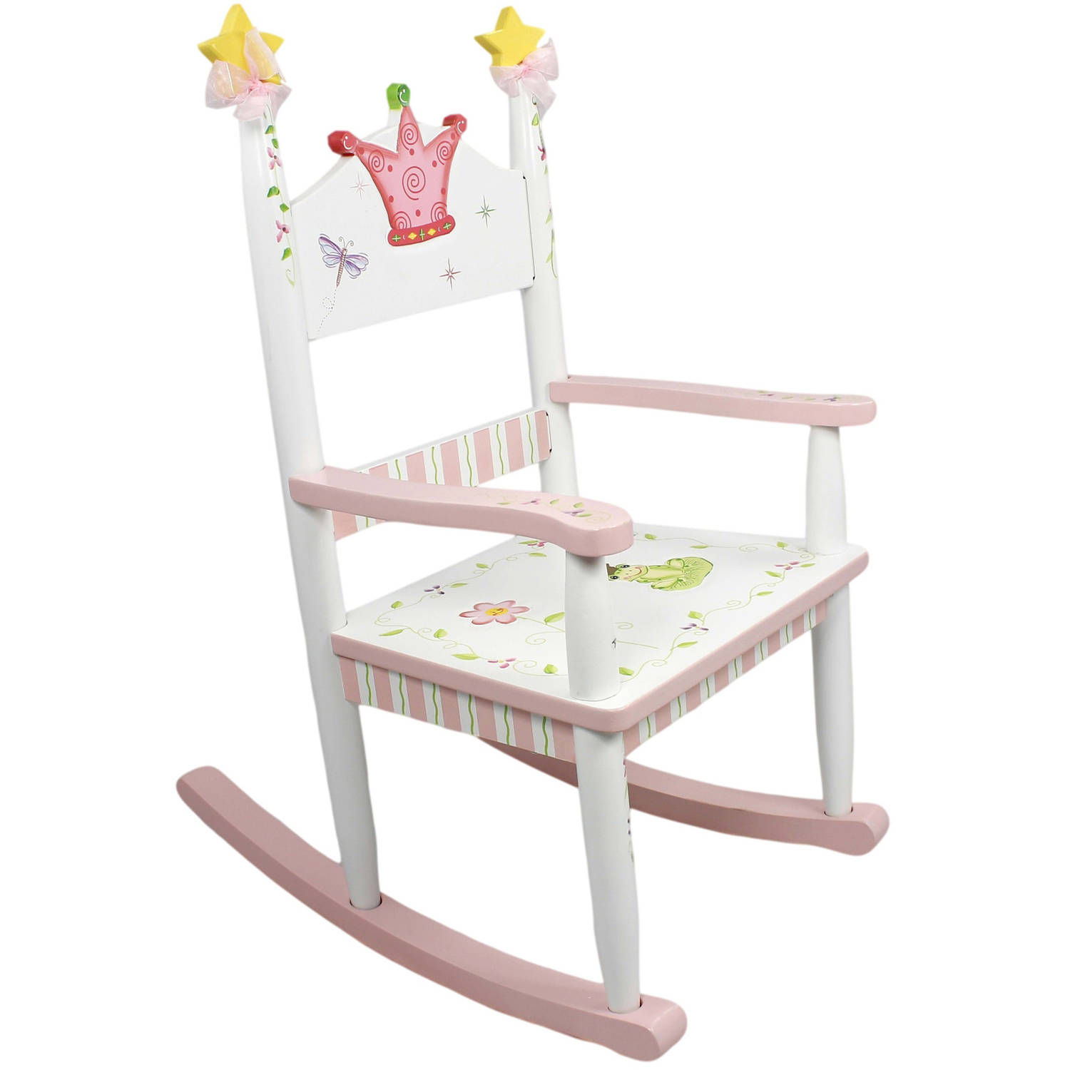 Fantasy Fields Princess and Frog Rocking Chair by Teamson