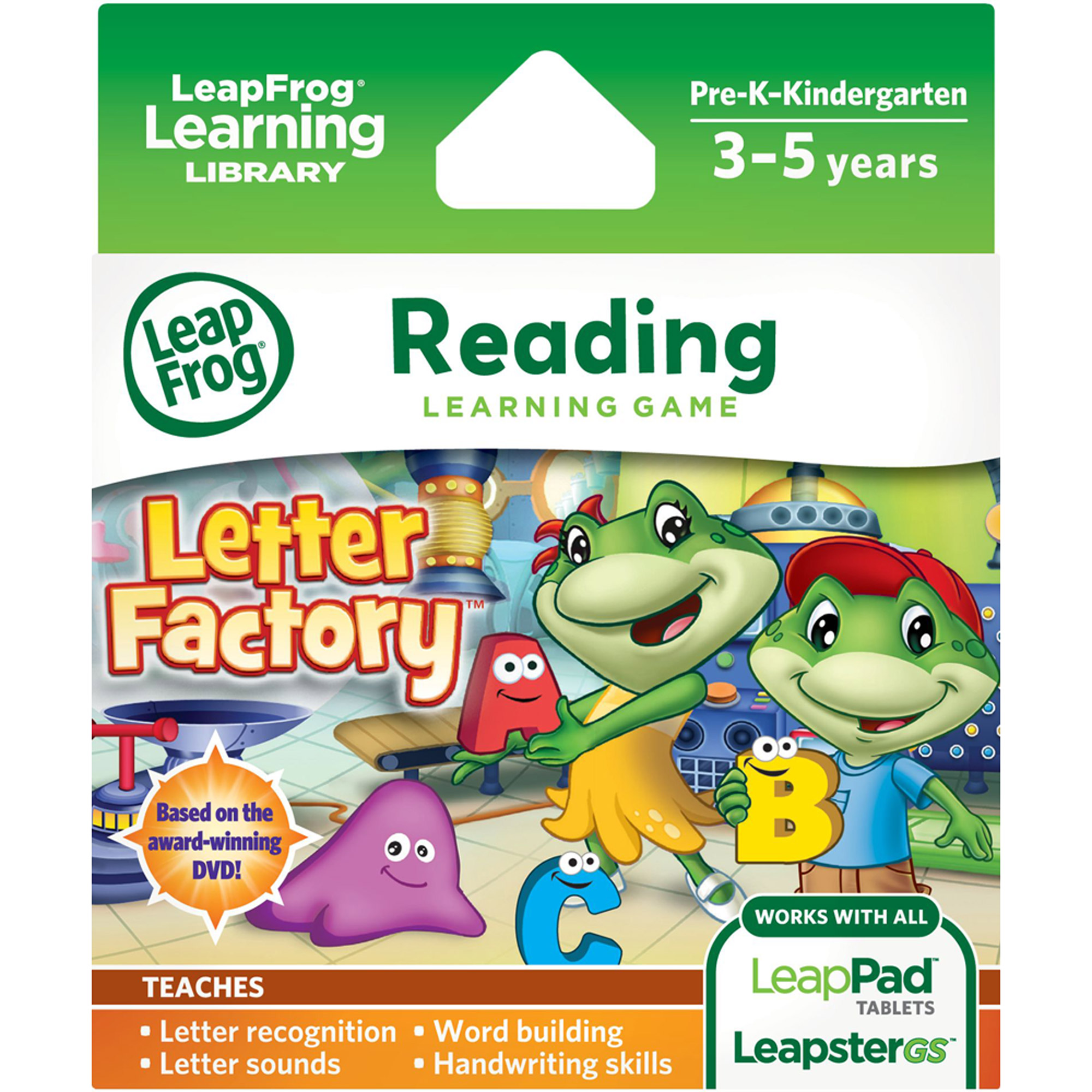 leapfrog explorer learning game letter factory walmart com