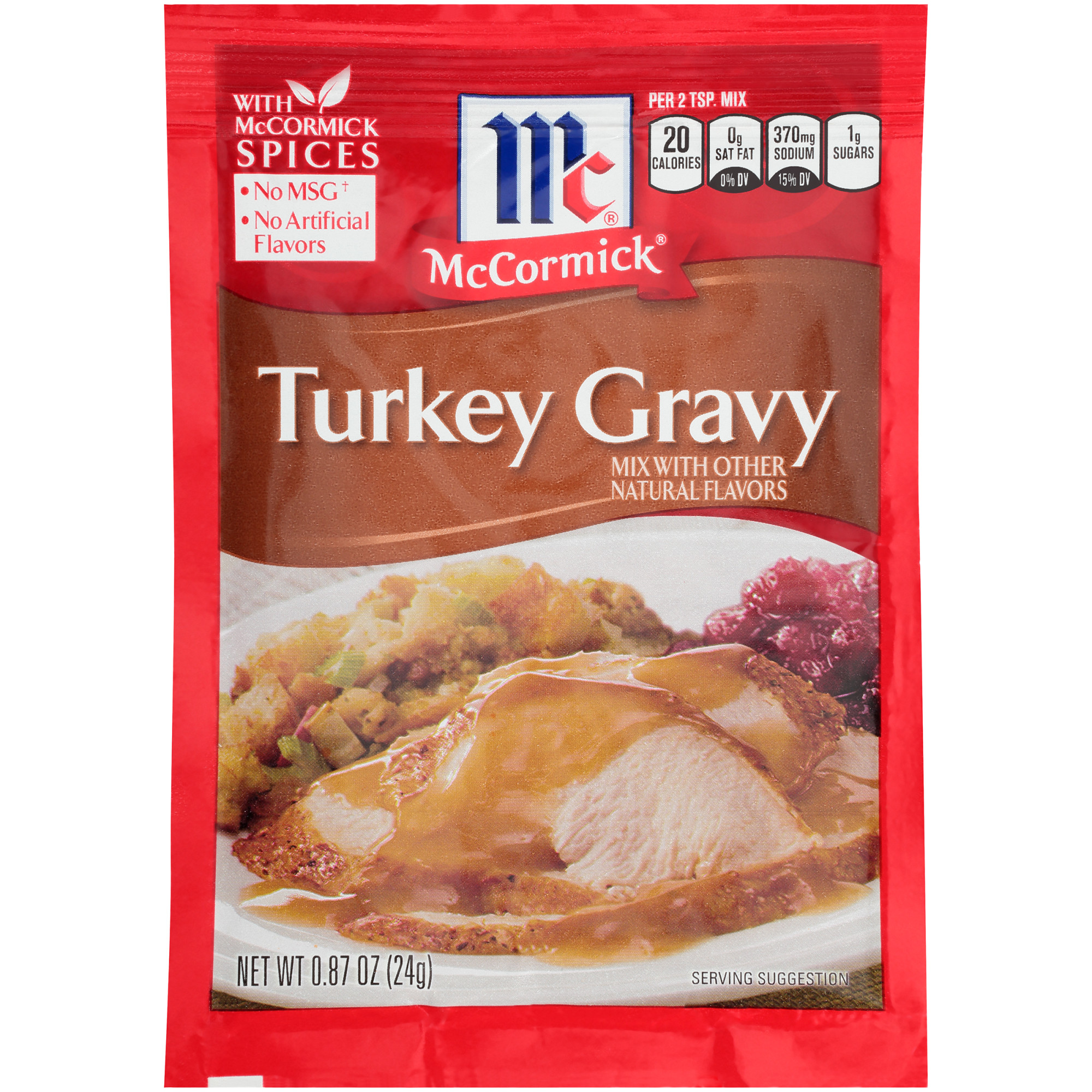 McCormick Turkey Gravy Mix, 0.87 OZ
