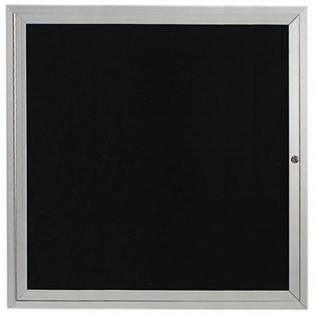 Aarco Products ADC3636 Enclosed Directory Board - Clear Satin Anodized