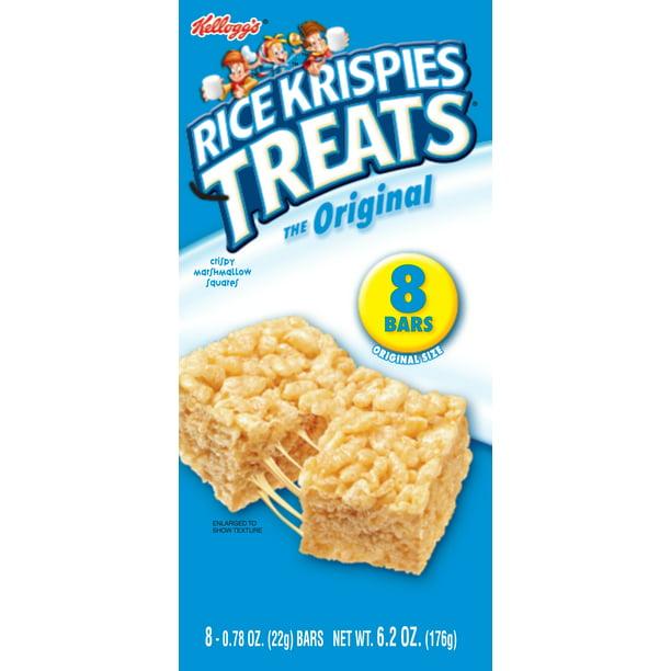Rice Krispies Squares Bars Birthday Cake Walmart Canada