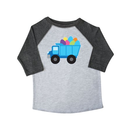 Easter Egg Truck Boys Toddler T-Shirt - Boys Easter Clothes